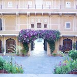 Courtyard Samode Palace