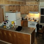 Cabin kitchen, everything you need