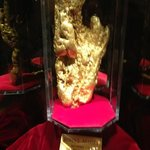 This is the picture of the Golden Nugget sitting in the Golden Nugget Casino a