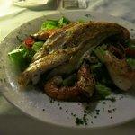 Mix grillet fisk