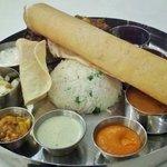 Thali combo dinner