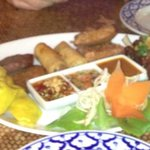 Thai mixed starter for two