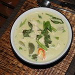 Chicken Green Curry