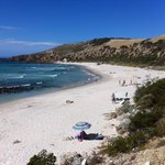 One of the north beaches of Kangaroo Island