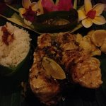 Grilled fish at the Warung