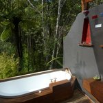 bath in the bush
