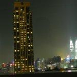 Taken from the 27th floor KL night sky