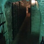 Walkway through the cellar I