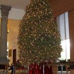 Weihnachtliches Foyer