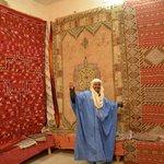 Tafraoute carpet shop