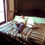 triple bed!