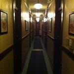 white eagle hallway
