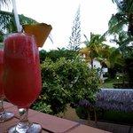 Miami Vice from the lobby bar