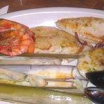 fantastic food @la parada(fish mixed grill)