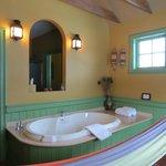 Tub in loft