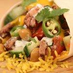 Beef Korma Bombay Burrito