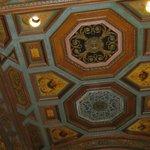 decorazione di uno dei soffitti