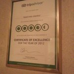 Recognition from TripAdvisor
