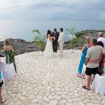 Wedding at the SeaSong Hut