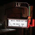 Luna movie theatre across street