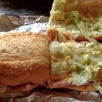 soggy bread, cold meat, plain lettuce on a Big Daddy