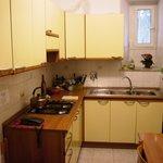 cucina abitabile in uso degli ospiti