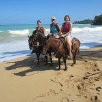 Horseback riding on the beach = AWESOME!
