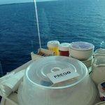 Prego - on board in Barbados!