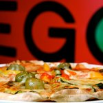 The 'famous' Prego pizza