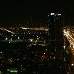 Skylounge dan gece manzarası
