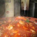 Linguine Portofino (seafood-fruits de mer)