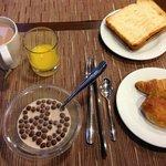 Self-service breakfast