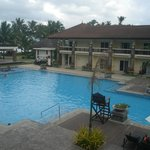 Our room facing to swimming pool area