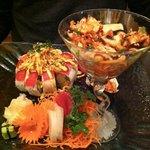 sushi sashimi special