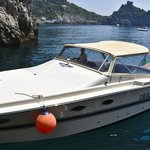 Lucibello Tornado 11 Cabin Cruiser w/ Salvatore at helm