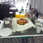 In-room free breakfast for SPG Platinum - only pastries