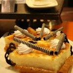 Gâteau à la mousse de mangue