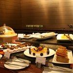 Merveilleux buffet des desserts