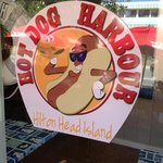 Delicious eats at Hot Dog Harbour!!