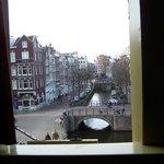 wiew from corner through open window