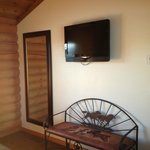 Bedroom tv in cabins
