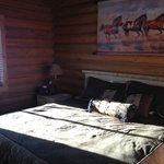 King bed in cabins