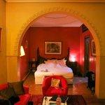 Suite Ambrosia Zona letto.