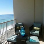 Wonderful Balcony 1302E Inn at the Summerwind with nice furniture to relax