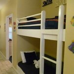 Bunkbeds which are great for the kids