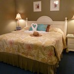Great King size bed which was VERY comfortable