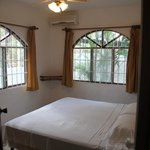 light and airy bedroom - A/c unit will cool the entire suite