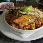 Peruvian-style paella