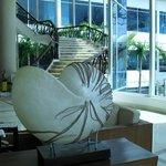 confort y belleza del lobby