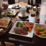 上質な朝食